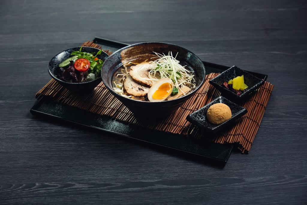 KURO Lunch Set_Ramen_Kaoru Shoyu Ramen