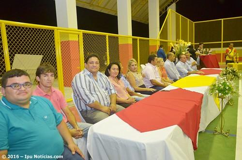 Inauguração do   Ginásio Poliesportivo do bairro Escondido
