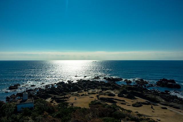 野島岬より太平洋眺望