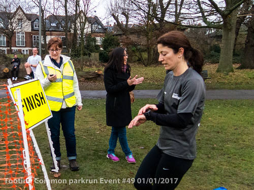 Tooting Common parkrun event #49 01/01/2017
