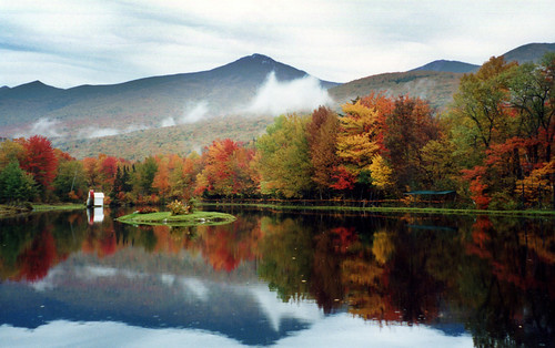 Indian Head Resort Lincoln New Hampshire In The Fall