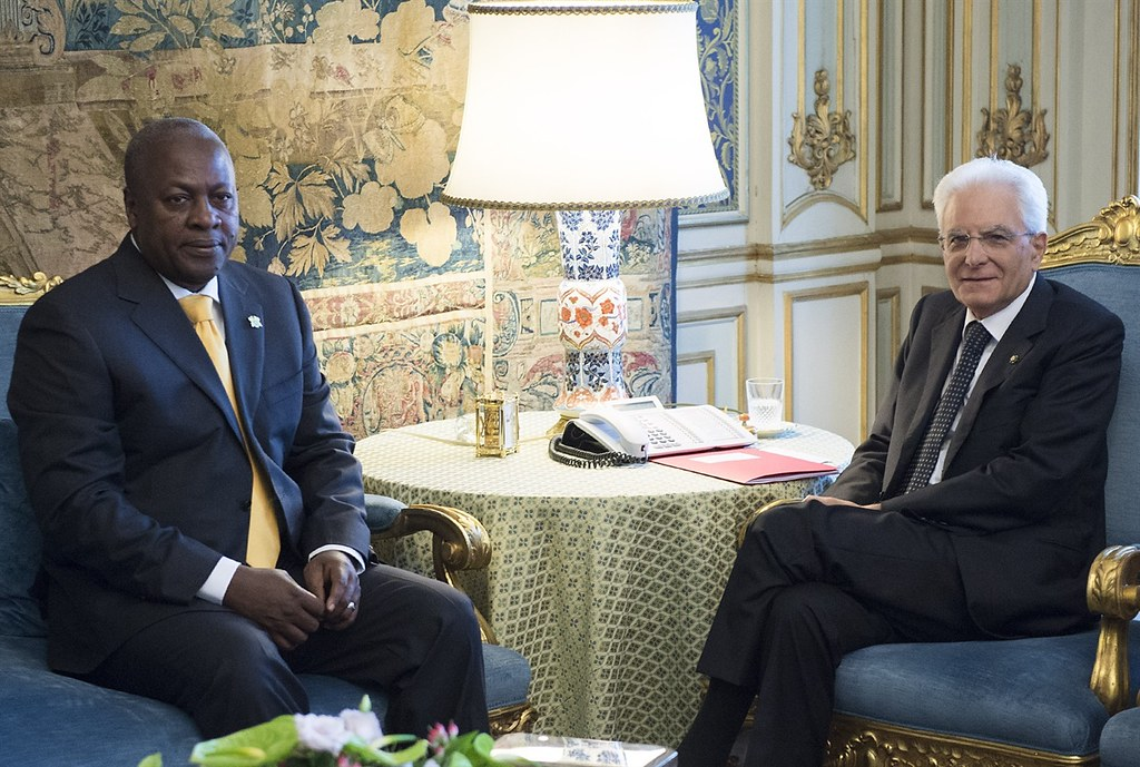 President Mahama in Rome, 2015