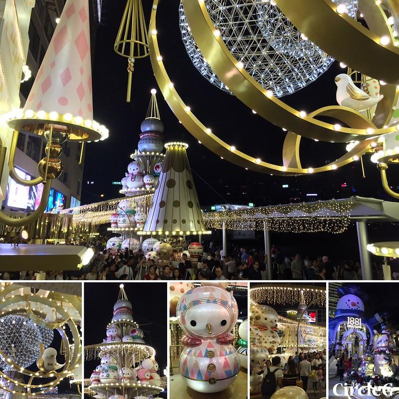 CIRCLEG 香港 尖沙咀 TSIMSHATSUI 海港城 HABORCITY 2016聖誕 遊記 聖誕 2016 聖誕小雪翁的日與夜 CHRISTMAS TOGETHER