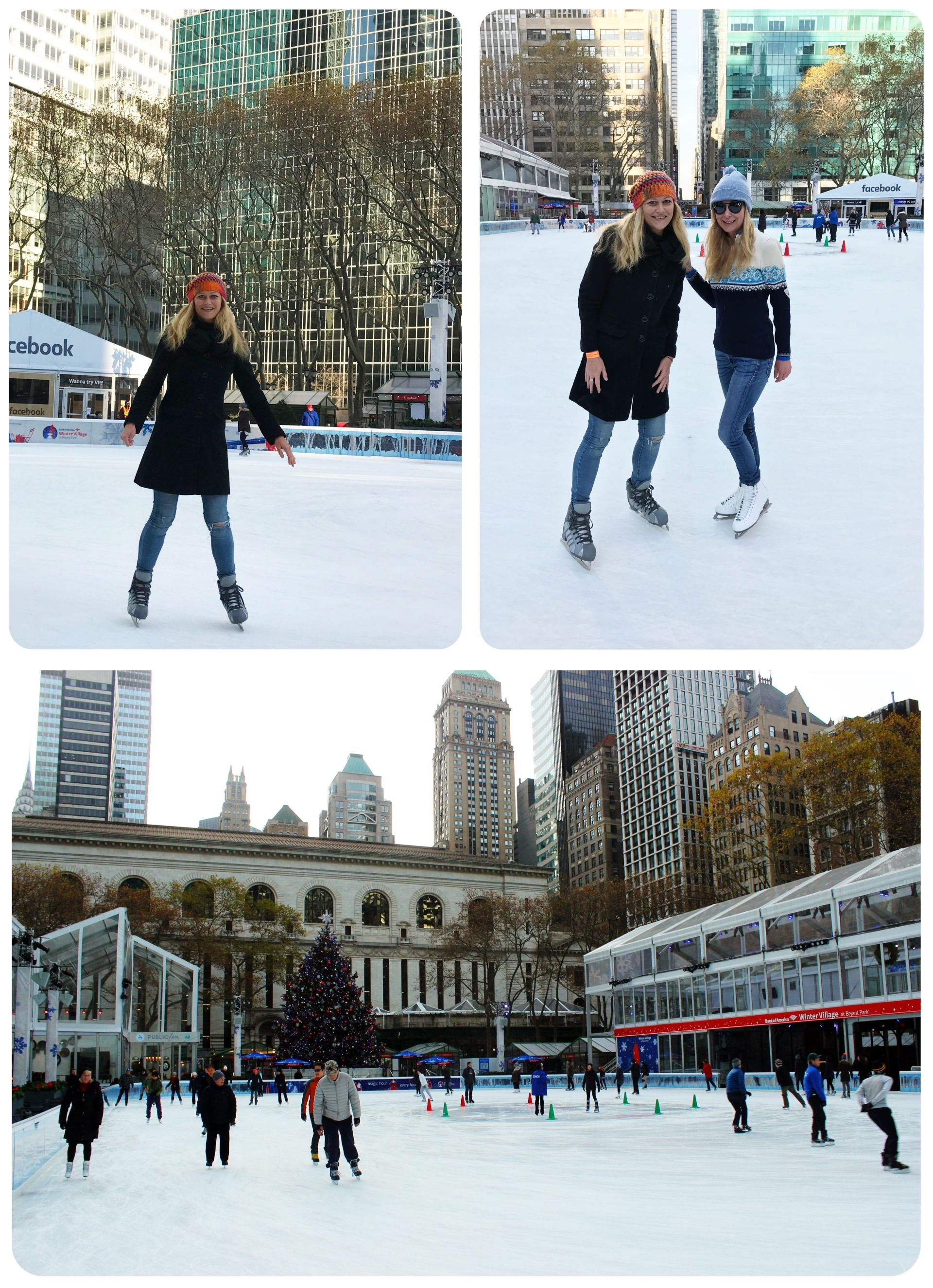 Ice skating NYC