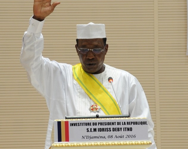 Investiture d'Idriss Deby au Tchad