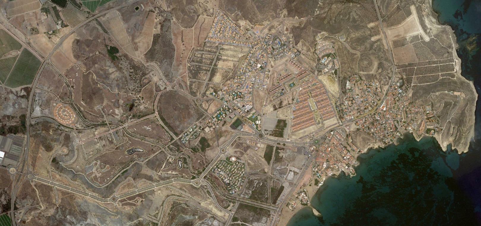 san juan de los terreros, almería, johnny of the soils, después, urbanismo, planeamiento, urbano, desastre, urbanístico, construcción, rotondas, carretera