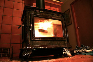 Wood stove | by dphiffer