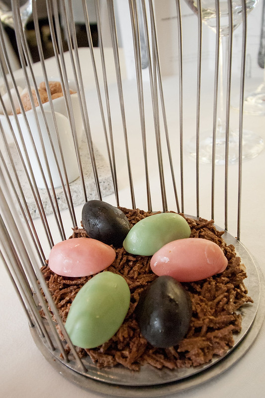 chocolate, restaurante ARZAK