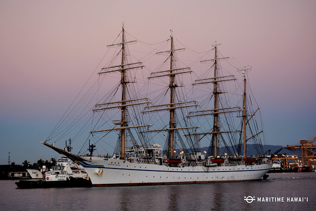 Nippon Maru to Visit Kaua'i and O'ahu