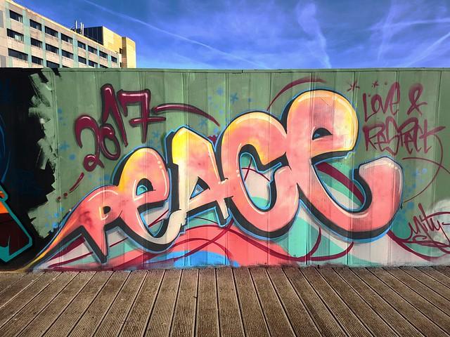 Street art Cardiff