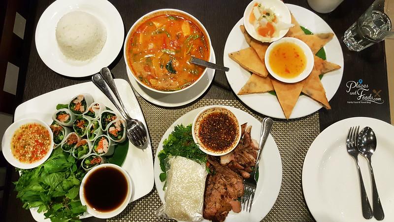 glamping singha dinner restaurant