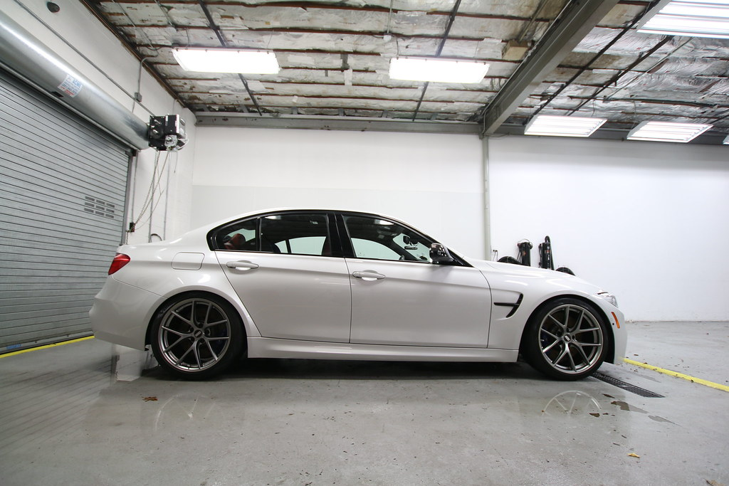 19 Inch Bbs Ci R S In Platinum Silver On Bmw M3 F80