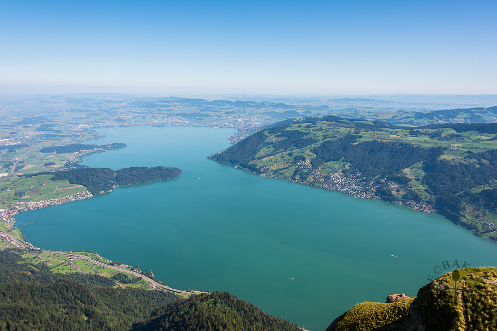 View at Mt Rigi