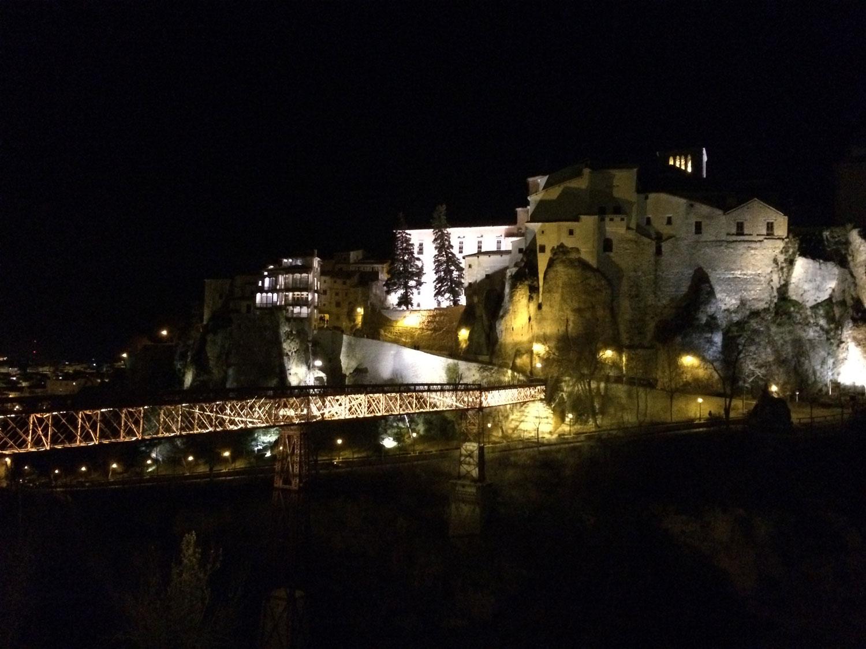 Cuenca_patrimonio_unesco_iluminación monumental_parador nacional