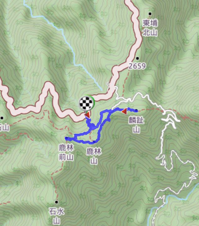 塔塔加六山位置