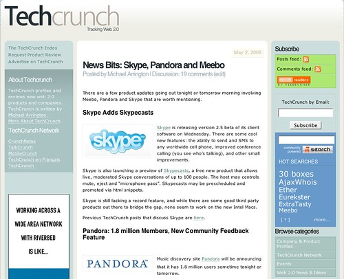 techcrunch screenshot from may 2006.png | by michaelarrington