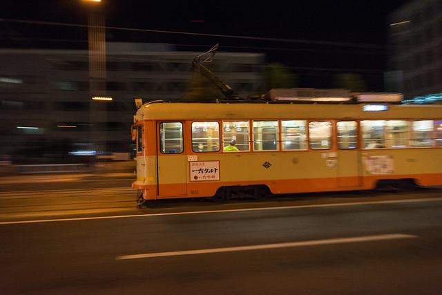 松山市電流し撮り