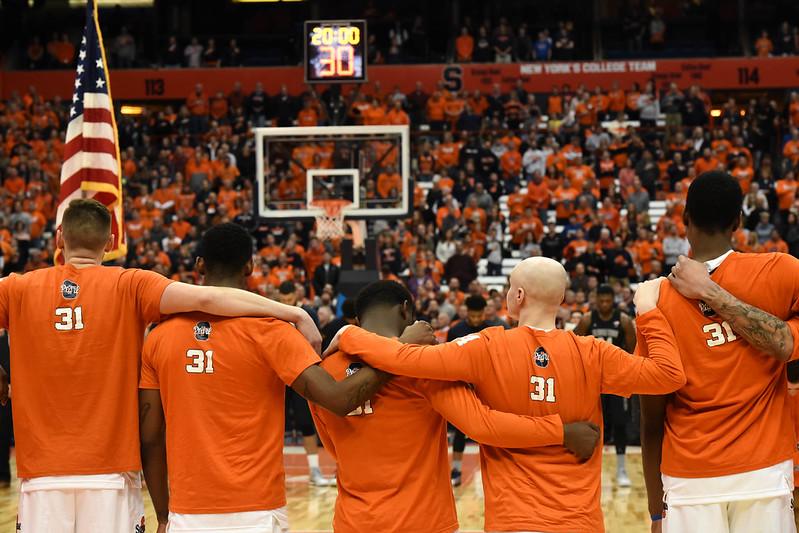 SU Basketball: Syracuse vs. Georgetown