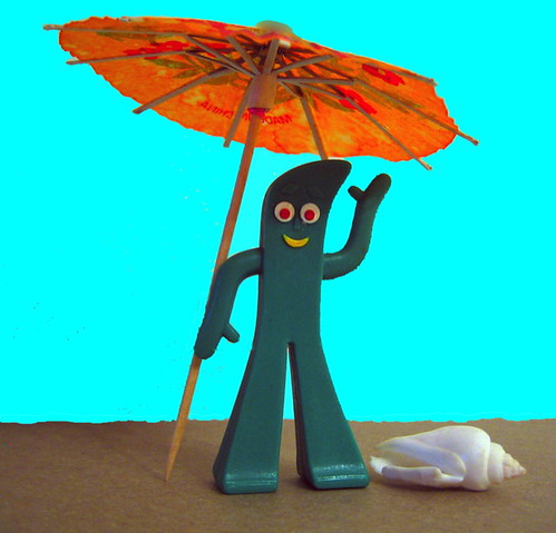Gumby Goes to the Beach | by Lady-bug