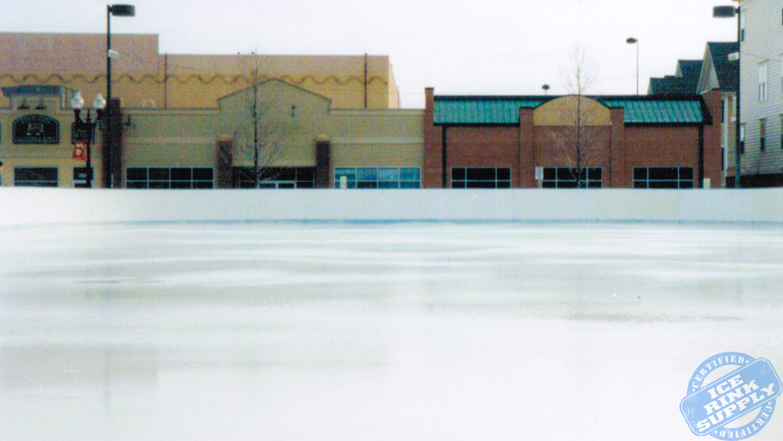 Ice Skating Rink Kentlands, Maryland