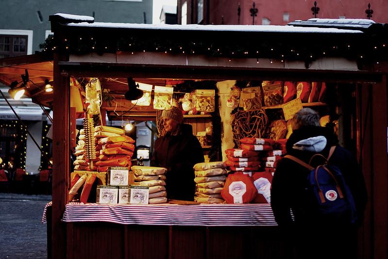 gamla stans julmarknad med marcus