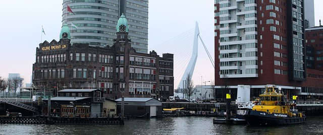 Hotel New York & Erasmusbrug