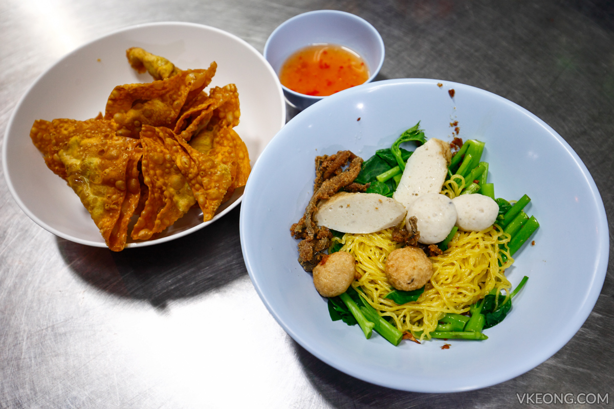 Bangkok Chinatown Yaowarat Fish Ball Noodle