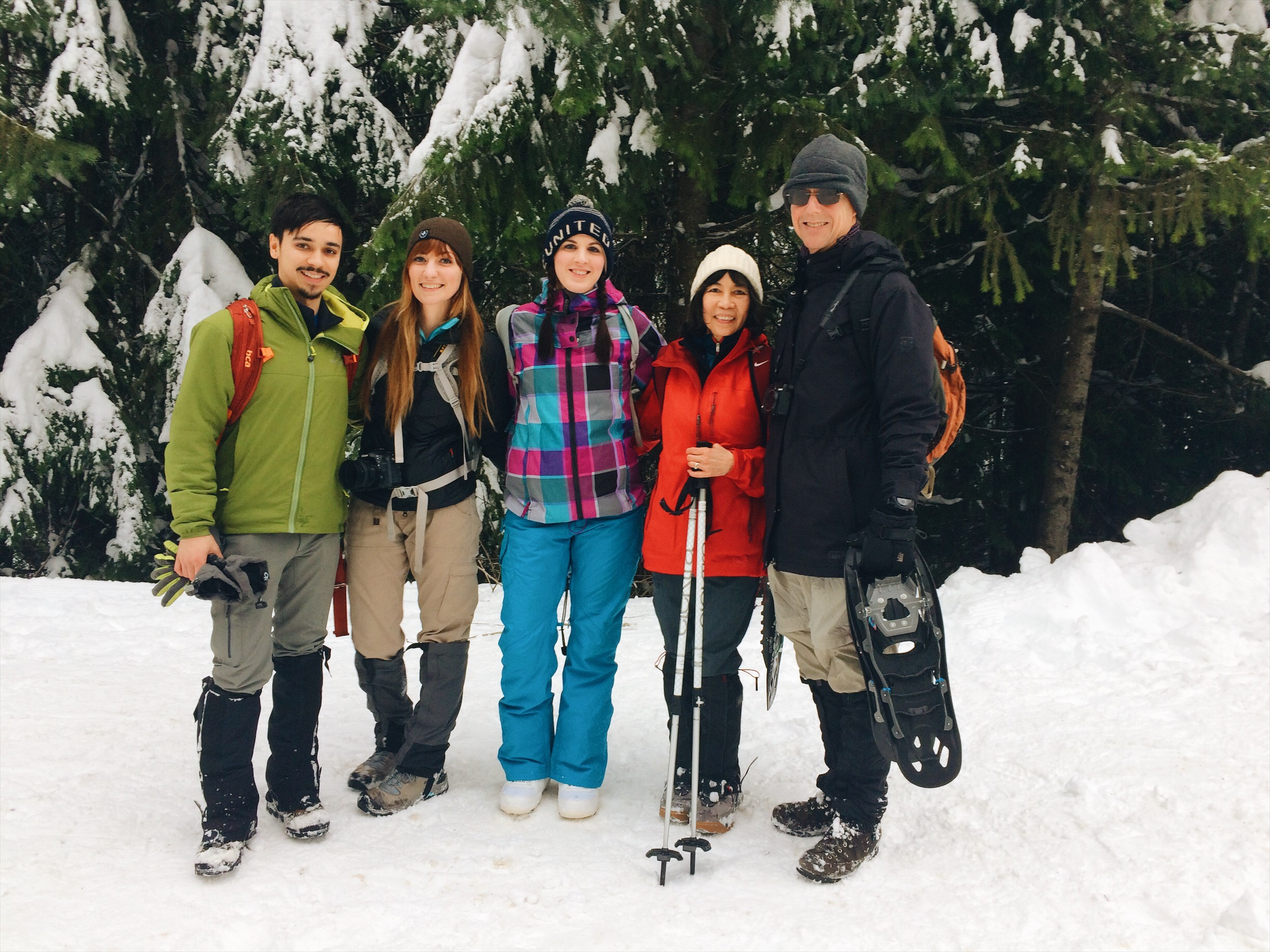 Snowshoeing in Snoqualmie