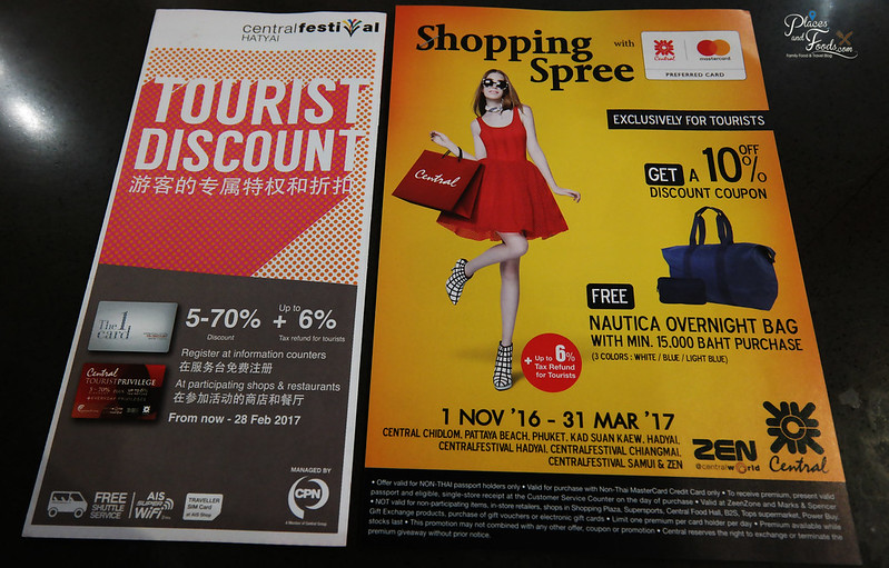 central festival hatyai tourist discount