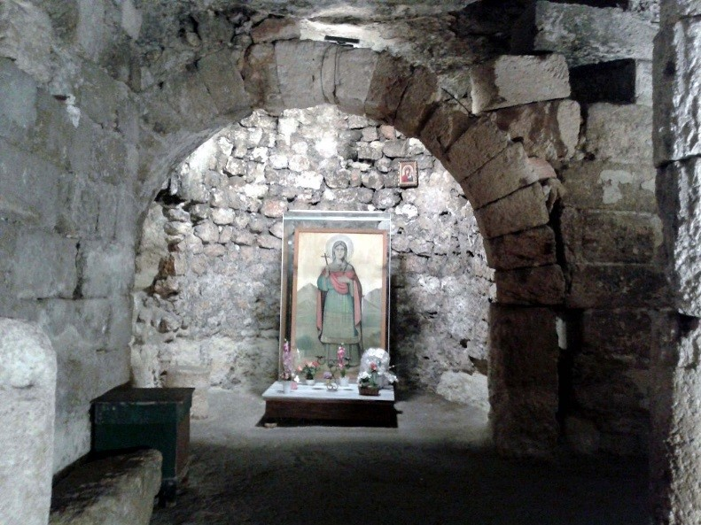 mormantul Sfintei Tecla