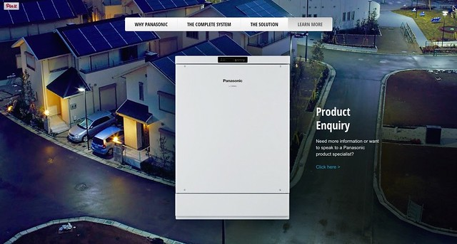 Panasonic Residential Battery System