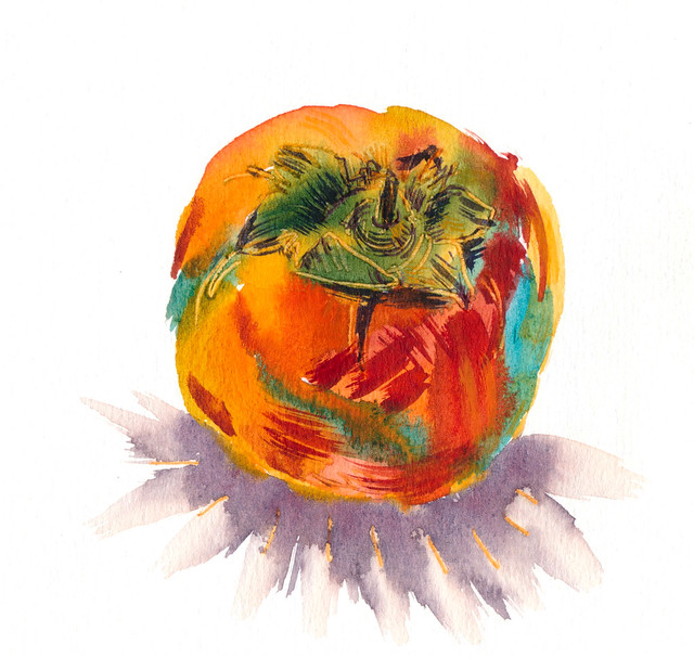 Sketchbook #100: Persimmon