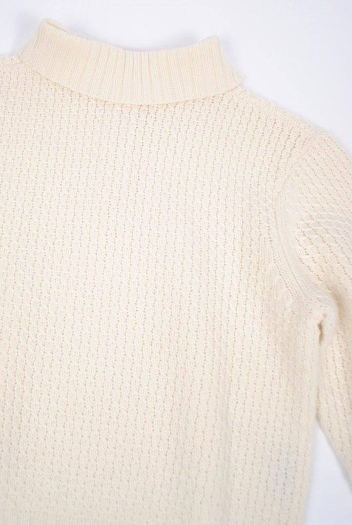 Button Shawl Collar Sweater
