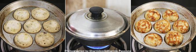 How to make Chola Paniyaram Recipe - Step10