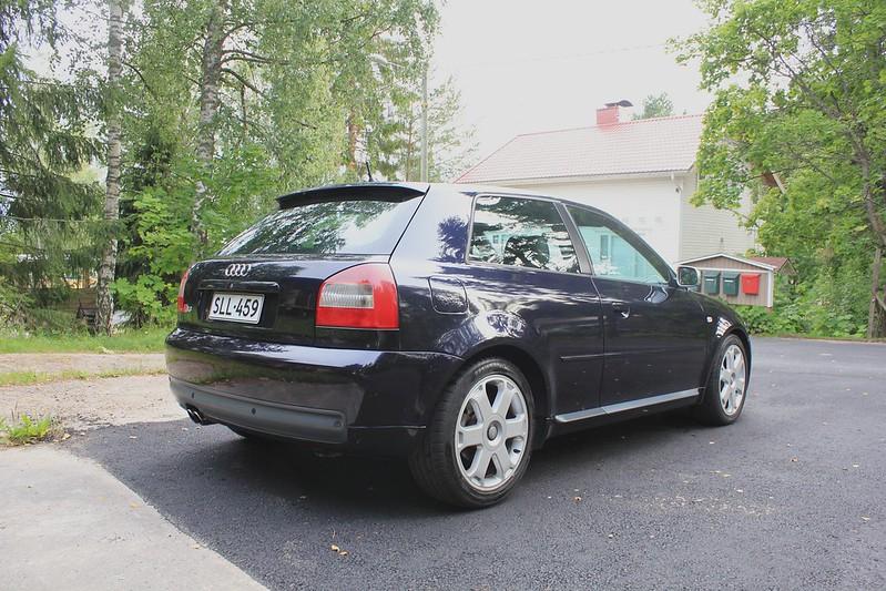 Japrnoo: Datsun 510 & EX Audi S3 20003962948_7f423362b9_c