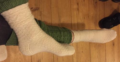 Rossling handknit socks