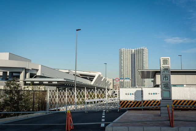 豊洲市場青果棟の写真