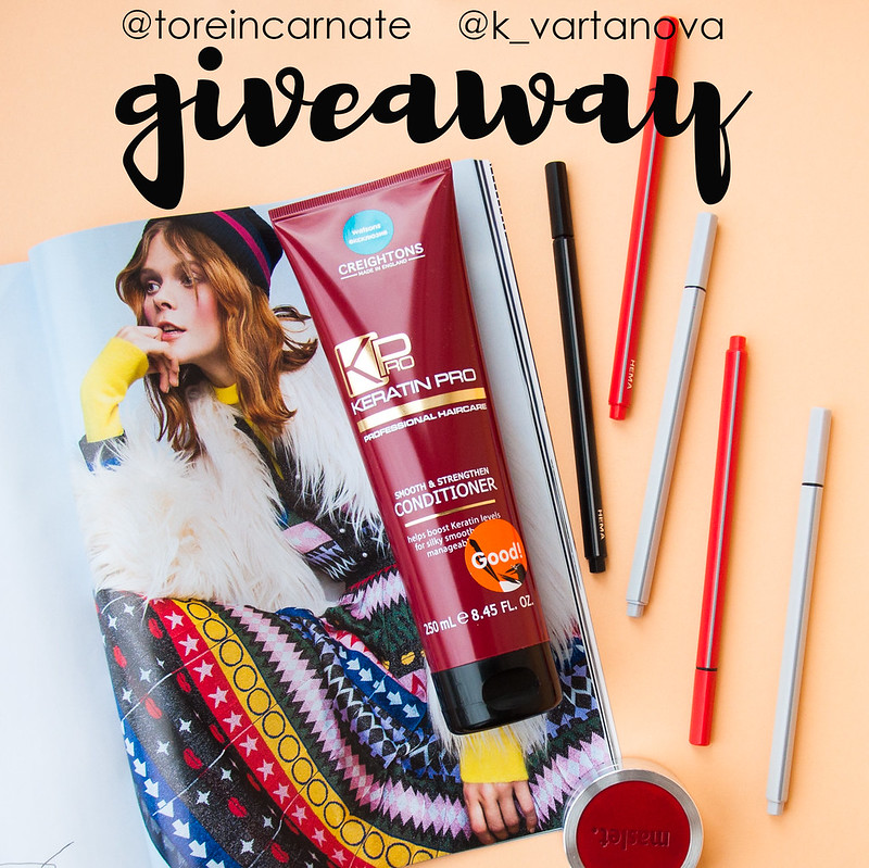 CREIGHTONS Keratin Pro Smooth & Strengthen Conditioner GIVEAWAY