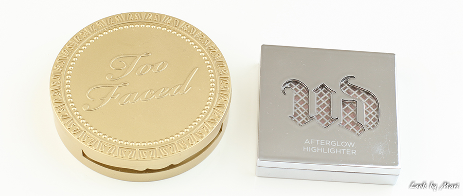 6 too faced milk chocolate soleil bronzer urban decay afterglow highlighter aura kokemuksia review