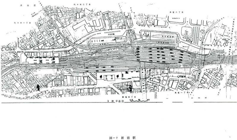 大新宿構想時代の上越新幹線新宿駅地下ホーム (9)