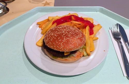 Cheeseburger & Steakhouse Pommes Frites