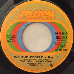 THE SOUL SERCHERS:WE THE PEOPLE - PART.1(LABEL SIDE-A)