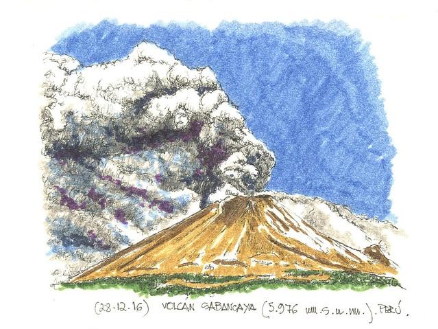 Sabancaya (5.976 m.s.n.m.)