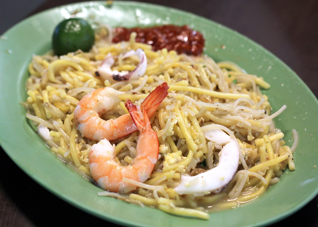 Nam Kee Fried Prawn Noodle