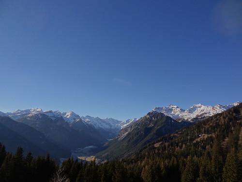 Blaser ascent view - looking west along the Gschnitztal