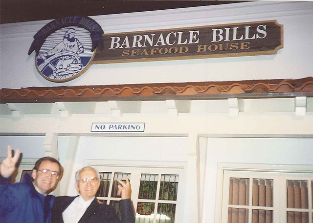 Paul and Dad at Barnacle Bills