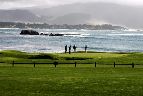 the 18th hole at Pebble Beach | by Joe in DC