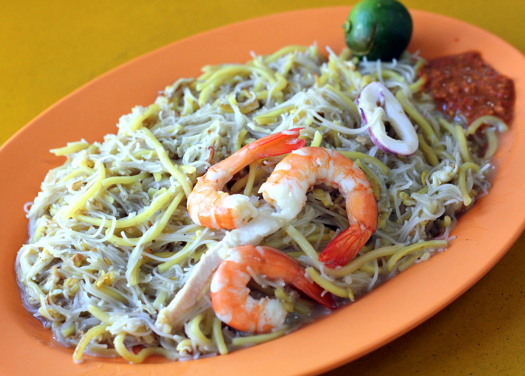 Yi Ji Fried Hokkien Prawn Mee