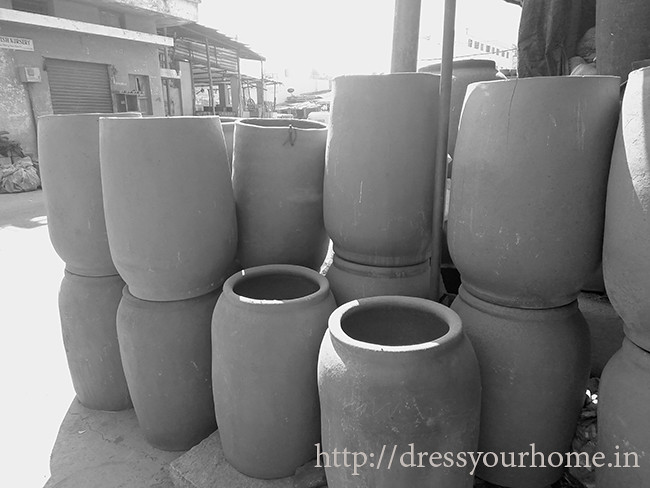 clay tandoors at pottery town bangalore