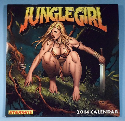 Jungle Girl 2014 Calendar by Frank Cho